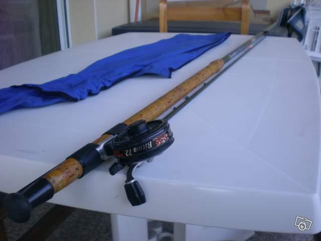 Matos truite a vendre le blog de lignan peches sportives for Canne a peche fil interieur